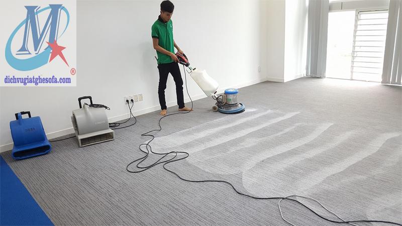 Giặt thảm trải sàn văn phòng Hà Nội