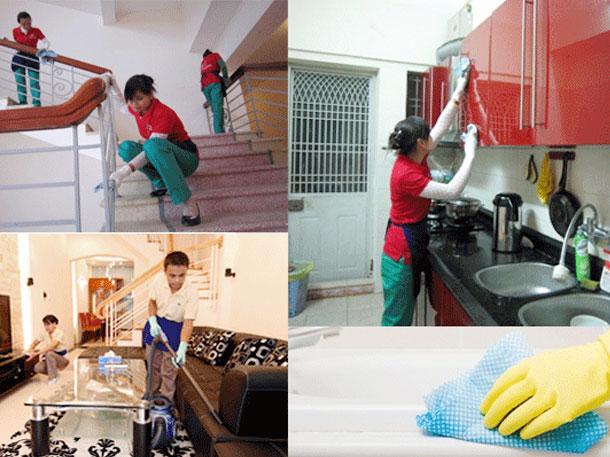 Dịch vụ giúp việc theo giờ tại Hà Nội giá rẻ