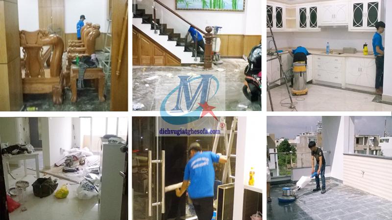 Dịch vụ vệ sinh nhà tổng thể