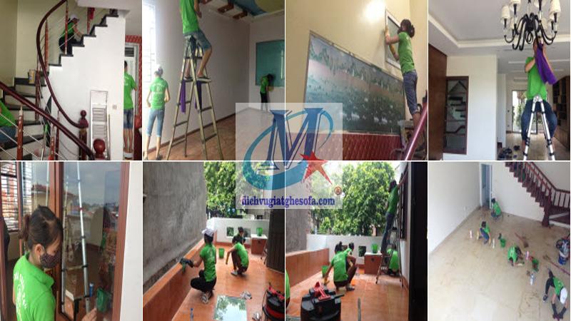 Dịch vụ dọn dẹp vệ sinh nhà ở TPHCM