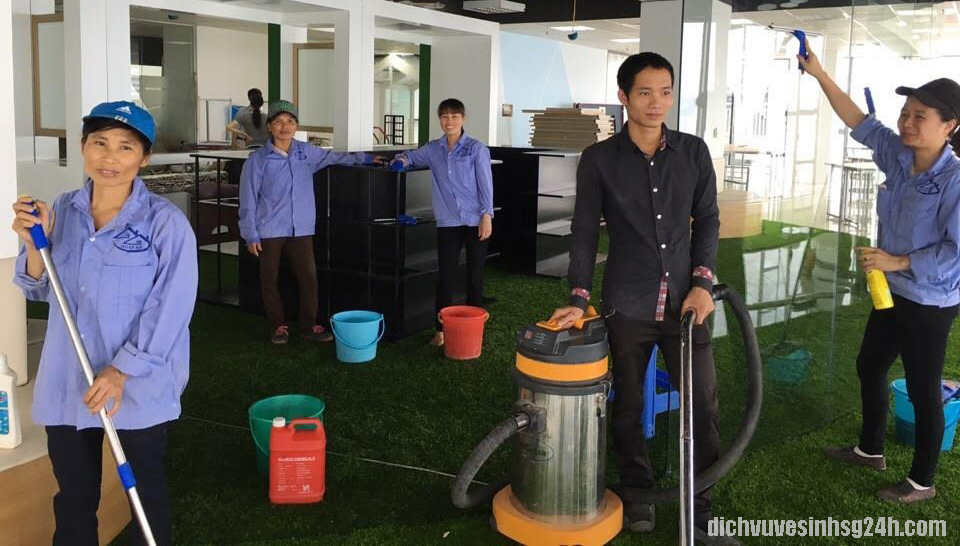 List 15 Dịch vụ vệ sinh công nghiệp tại Hà Nội giá rẻ