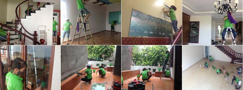 Dịch vụ vệ sinh nhà tại Hà Nội giá rẻ