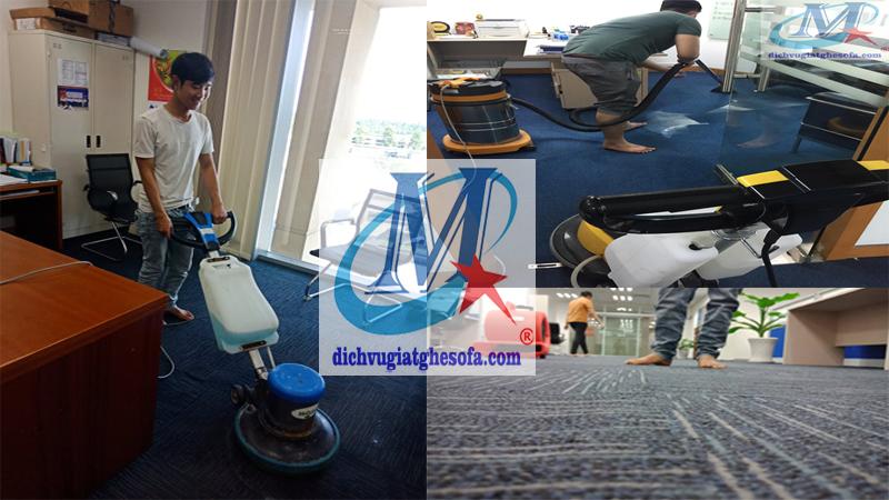 dịch vụ giặt thảm tại Hà Nội