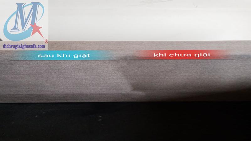 giặt ghế sofa trước và sau