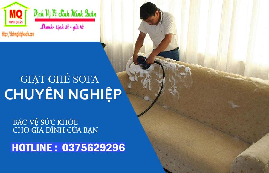 Giặt ghế sofa tại quận tân phú tphcm