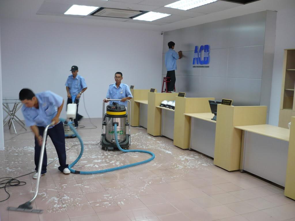Dịch vụ vệ sinh công nghiệp Thanh Hóa