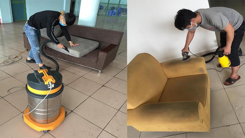 Giặt ghế sofa tại quận gò vấp tphcm