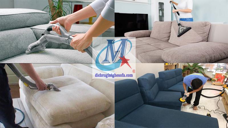 Giặt ghế sofa giá rẻ tại nhà tphcm