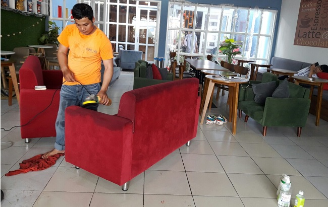 giặt ghế sofa tại quận 10 tphcm