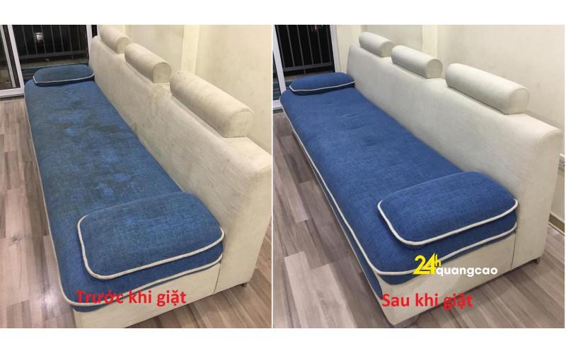 Giặt ghế sofa tại huyện bình chánh tphcm