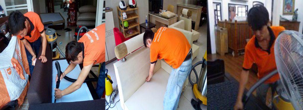 Dịch vụ vệ sinh ghế sofa tại Tphcm