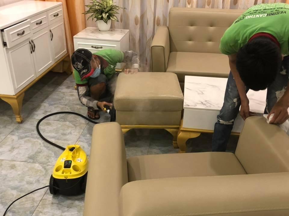Dịch vụ giặt ghế sofa tại Hải Dương