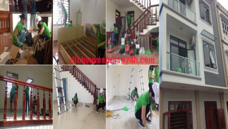 Bảng giá vệ sinh nhà sau xây dựng Hà Nội