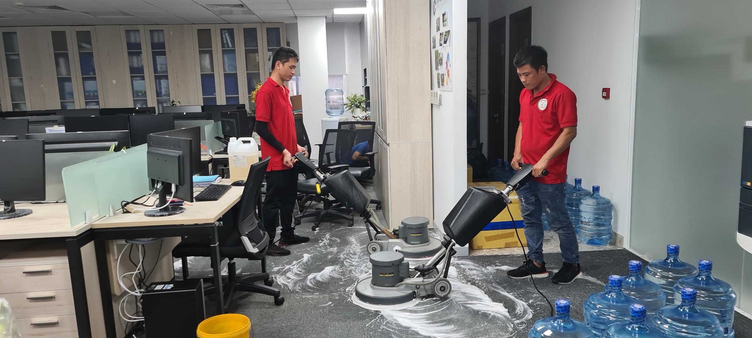 Giặt thảm văn phòng tphcm