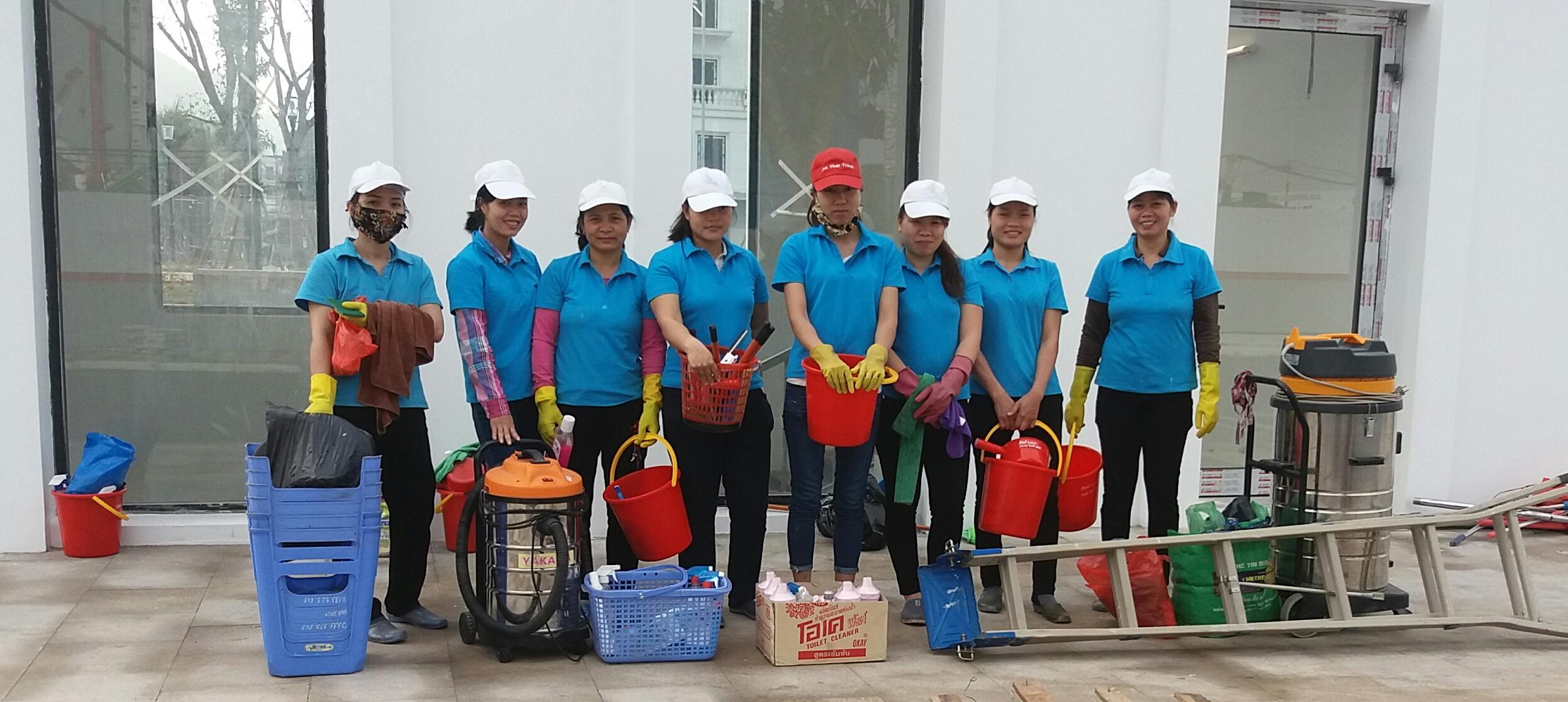 Dịch vụ vệ sinh nhà ở Hà Nội giá rẻ