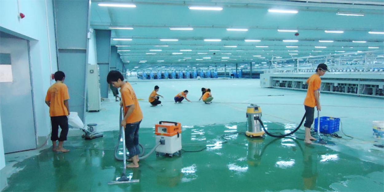 Bảng giá dịch vụ vệ sinh công nghiệp tại Hà Nội