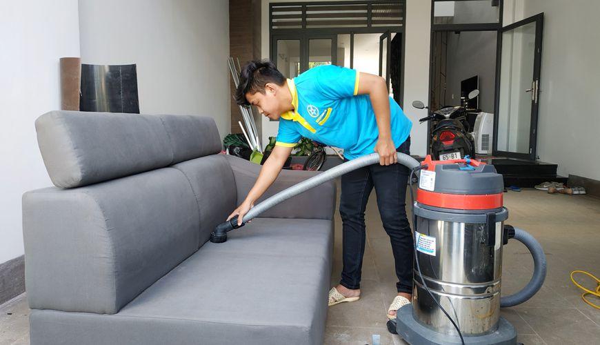 Giặt ghế sofa tại nhà Đồng Nai