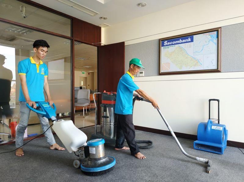 Giặt thảm tại nhà Bắc Ninh
